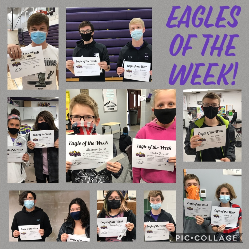 Dec Eagles of the Week