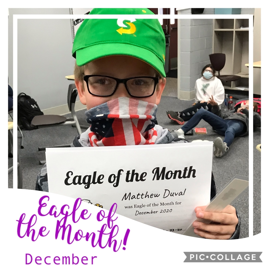 Dec Eagle of the Month