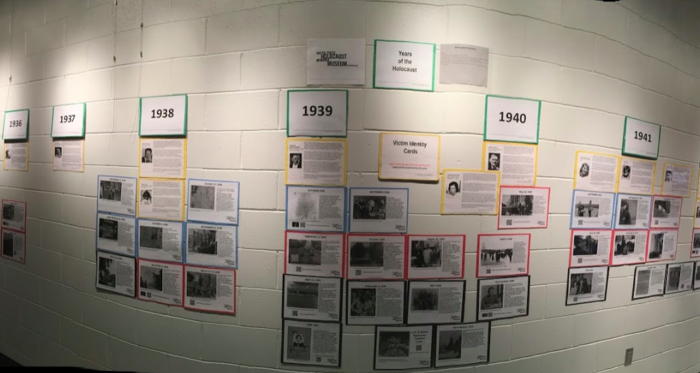 Holocaust wall At WRRHS