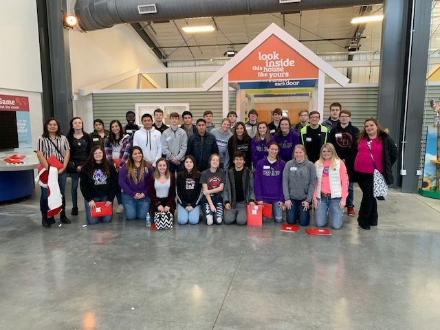 WRRHS Sophomores at UNL Extension Connect the Dot Career Exploration Day