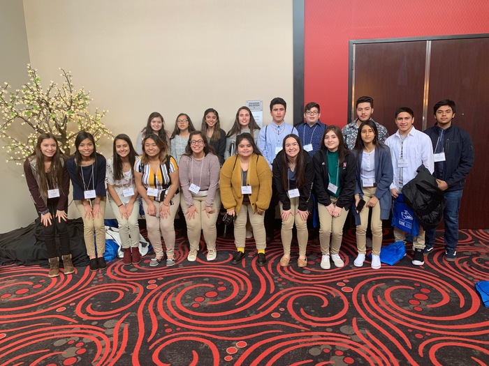 WRRHS Students at NE Cultural Unity Conference 2019