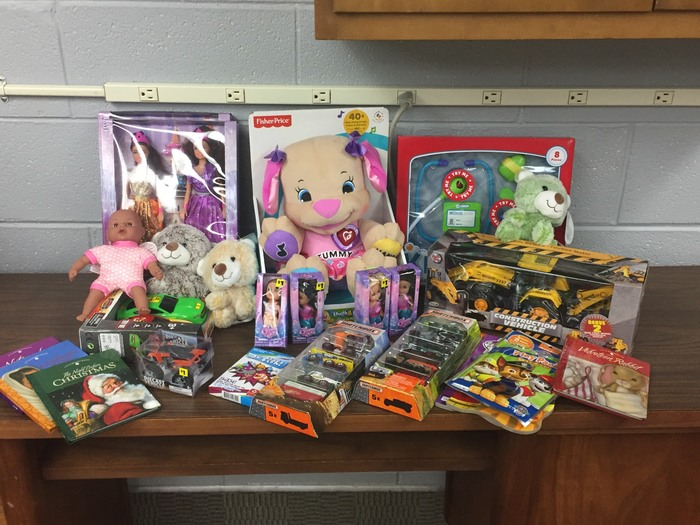 Senior Class Toys for Tots