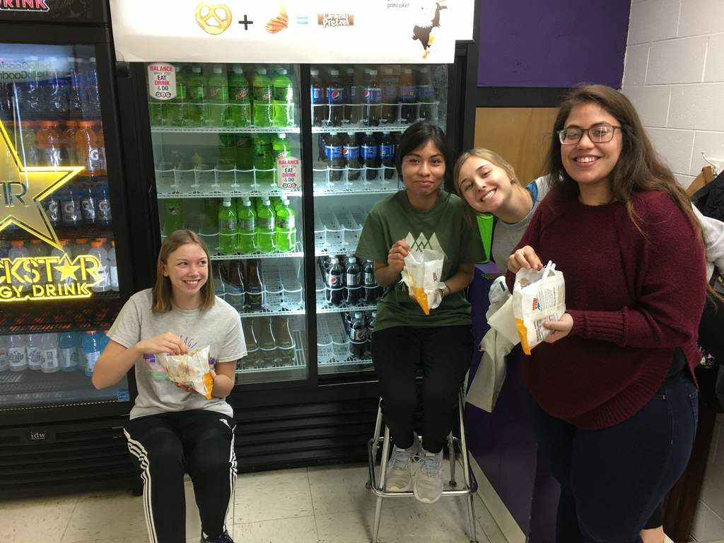 Close Up students 2020 working concessions fundraiser