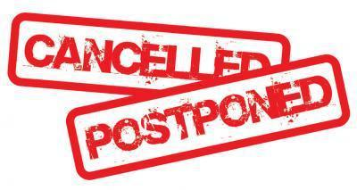 cancelled/postponed
